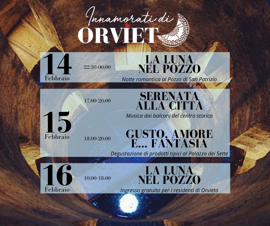 san valentino 2020 cosa fare orvieto Umbria